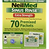 Neilmed Sinus Rinse Extra Strength Hypertonic 70 Packets (Tamaño: Pack of 1)