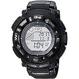 Casio Men's 'PRO TREK' Quartz Resin Sport Watch, Color:Black (Model: PRW2500-1A) (Color: Black/Black)