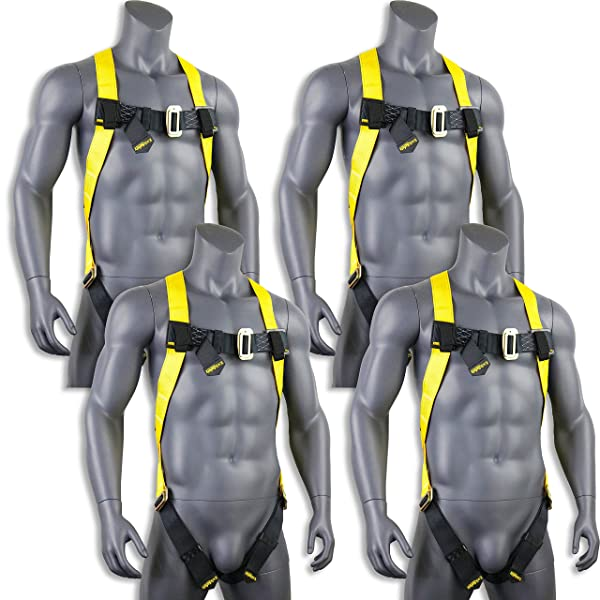 KwikSafety TORNADO 1D Fall Protection Full Body Safety Harness Charlotte, NC OSHA ANSI Industrial Roofing Tool Personal Protection Equipment Construction Carpenter Scaffolding Contractor