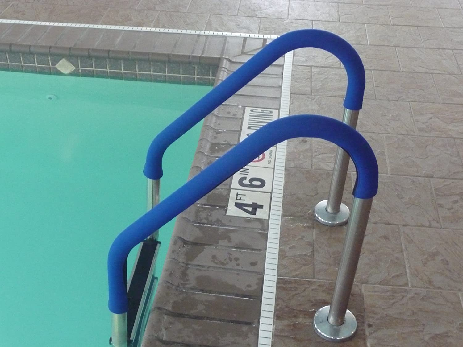 Rail Grips Osrg 6rb Swimming Pool Hand Rail Cover 6 Feet