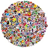 QWDDECO Stickers (386-PCS) Cute Stickers for Water Bottles Hydroflasks Skateboard- Decal Stickers for Teens, Girls, Boys, Adults - Laptop Stickers - Vinyl Stickers Waterproof - Sticker Pack Not Random (Tamaño: 2.75-4INCH)