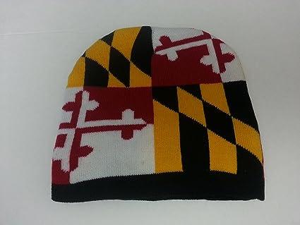 Maryland Flag Knit Hat