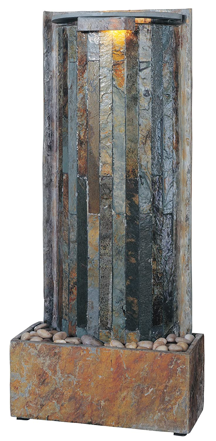 Kenroy Home SL Waterwall Indoor TableWall Fountain Natural Slate Finis Photo