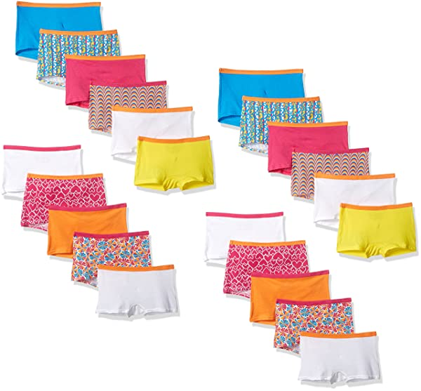 Multipack Fruit of the Loom Girls/' Breathable Underwear,Assorted
