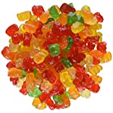 Ferrara Tiny Gummy Bears Candy, 5 Pound Bulk Candy Bag (Color: Red, Yellow, Green, Tamaño: 5 Pound)
