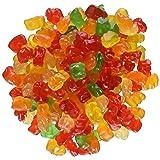 Ferrara Tiny Gummy Bears Candy, 5 Pound Bulk Candy Bag (Color: Red, Yellow, Green, Tamaño: 5 Pound)
