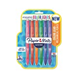 Paper Mate Clearpoint Color Lead Mechanical Pencils, 0.7mm, Assorted Colors, 6 Count - 1984678 (Color: Assorted  Colors, Tamaño: 6-Pack)