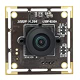 SVPRO H.264 Full 1080P Full HD Low Illumination USB Camera Module Fisheye Wide View Angle 180 Degree CMOS Sony IMX322 2MP Webcam UVC USB Board Camera (Color: 180 degree)