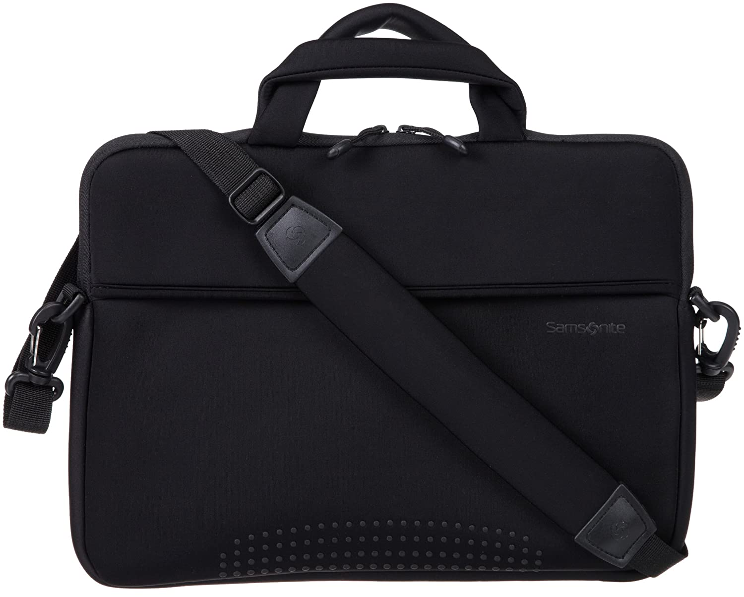 Samsonite Aramon2 Shuttle Shoulder Bag (Black) For 17 Inch Laptop 112