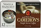 Cameron's Vanilla Hazelnut Single Serve Coffees,  12-Count
