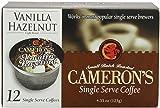 Cameron's Vanilla Hazelnut Single Serve Coffees,  12-Count