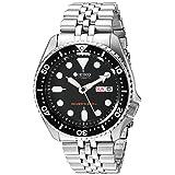SEIKO Men's Black Boy automatic diver's watch SKX007K2 (Color: black)