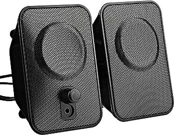 A150AmazonBasics AC Powered Computer Speakers