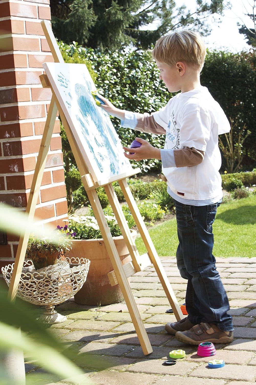 Caballete de madera ajustable en altura especial para niños