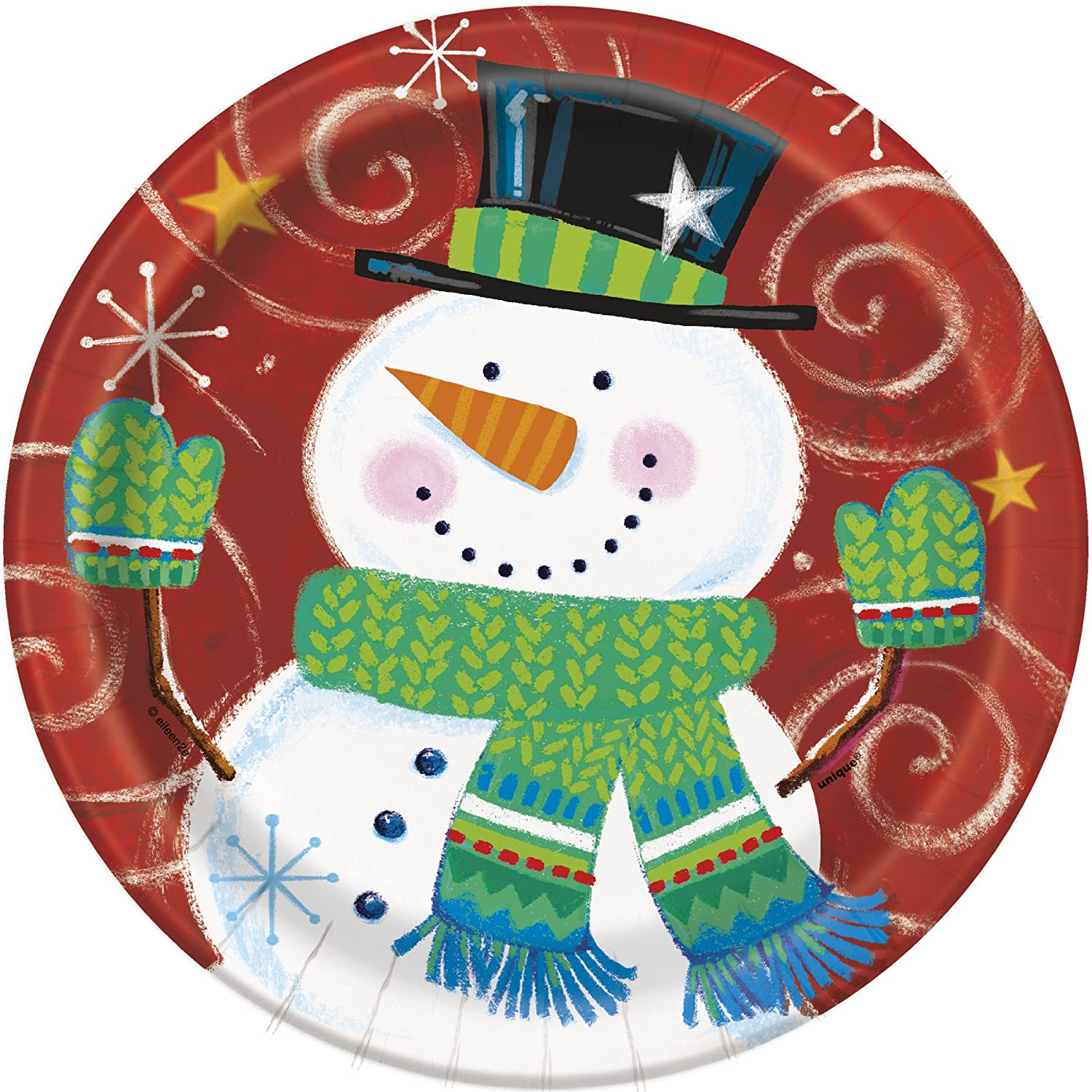 Snowman Swirls Christmas Party Decorations Christmas Wikii