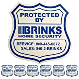 1 Home Security Yard Sign 6 Security Decals For Doors And Windows