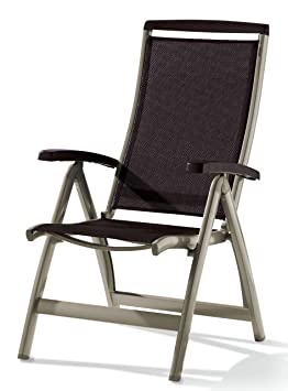 Sieger 937/C-M - Silla para exterior, champagner-mocca