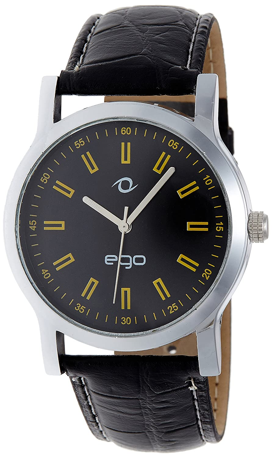 Just For Rs 399 - Maxima Ego Analog Black Dial Men's Watch - E-01072LAGC