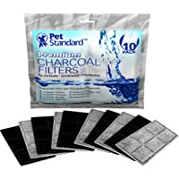 10-Pack Premium Charcoal Filters for PetSafe Drinkwell Fountains