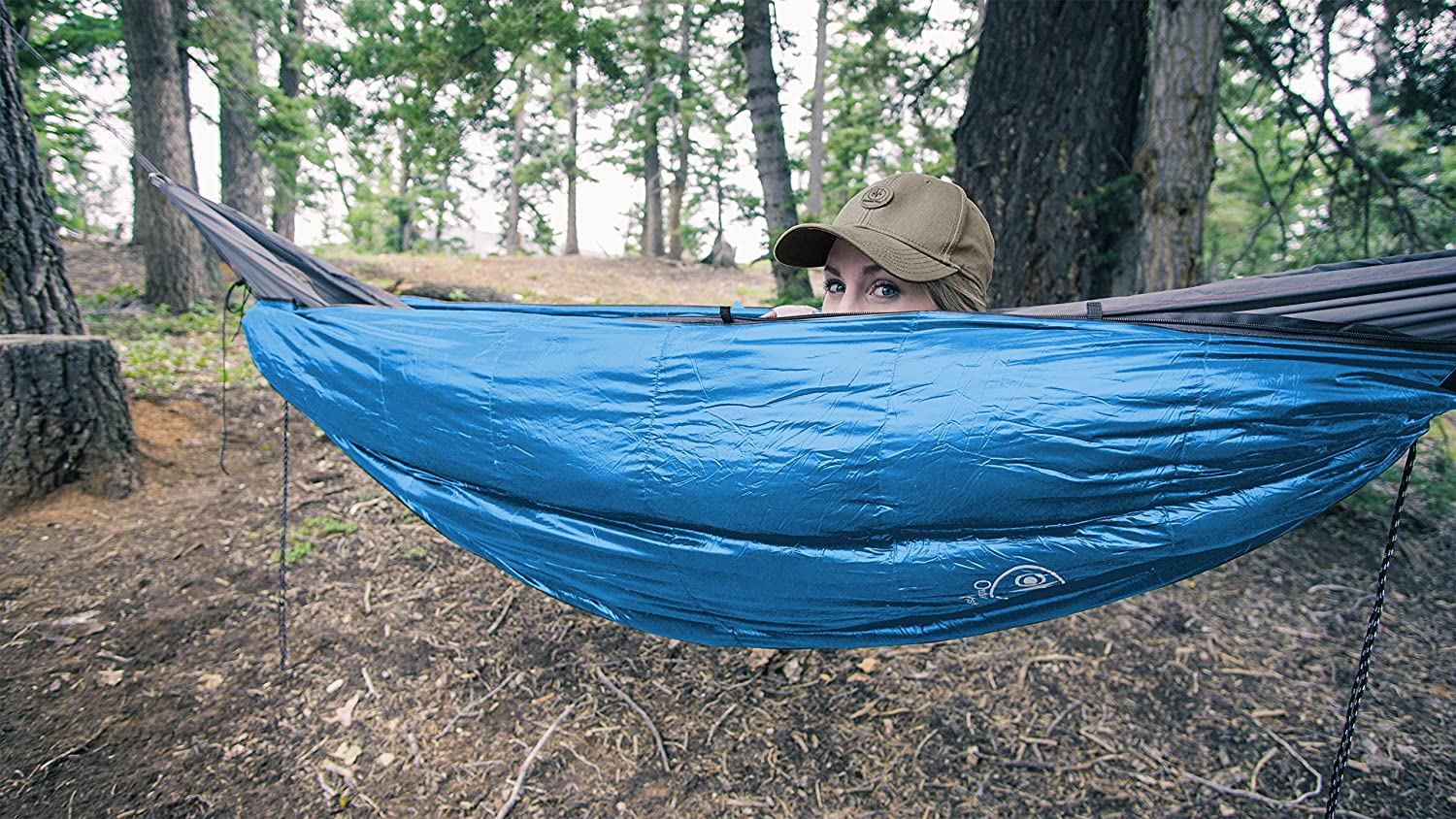 Outdoor Vitals OV-Roost 40°F UnderQuilt / Sleeping Bag, Use As Ultralight UnderQuilt, Sleeping Bag, or Double Bag