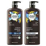 Herbal Essences Bio:Renew Coconut Milk Shampoo and Conditioner Set, 20.2 fl oz Each (Color: Cococonut Milk)