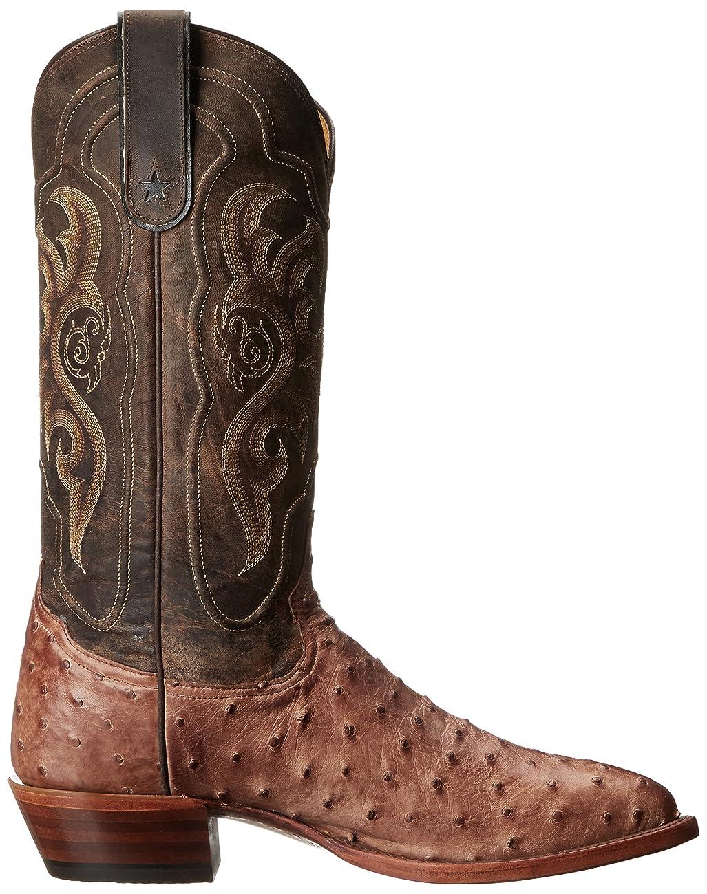 Tony Lama Boots Men's Vintage Ostrich 8965 Western Boot 5