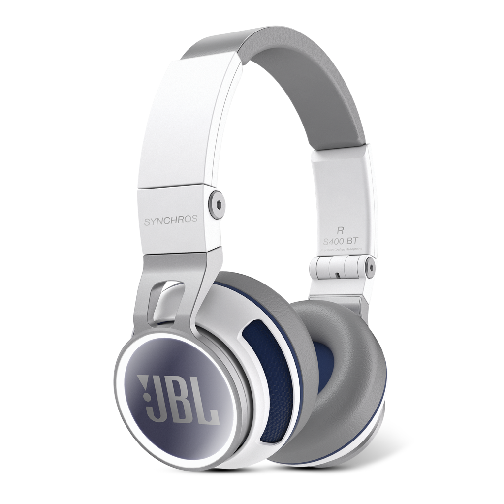 Amazon.com: JBL Synchros 400BT Bluetooth Wireless On-Ear Stereo Headphones, White: Electronics