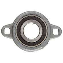 Boston Gear XL35/8 Mounted Bearing, Flange, Light Duty, 3 Bolts, 0.625 Bore