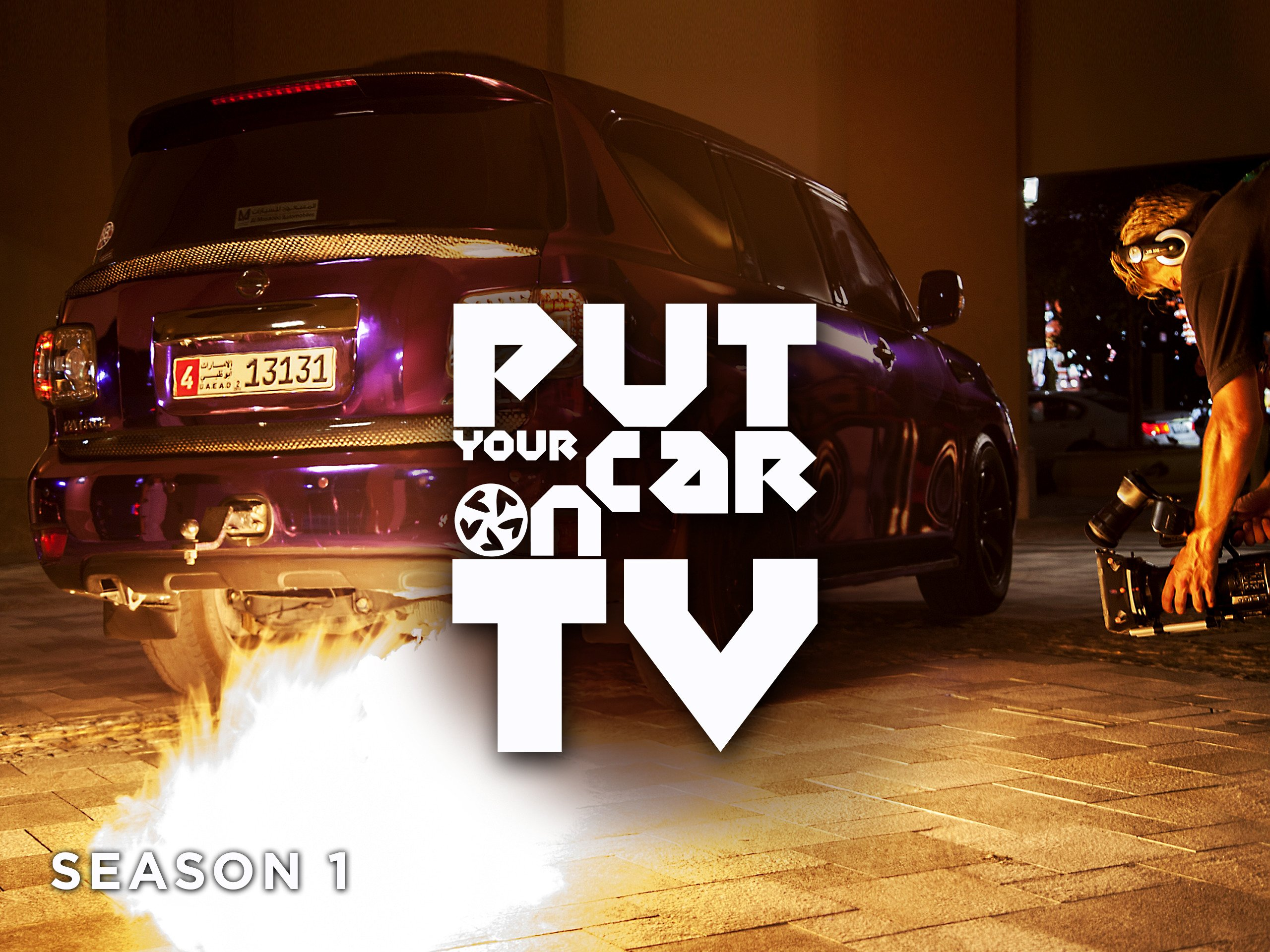Put your car on TV on Amazon Prime Video UK
