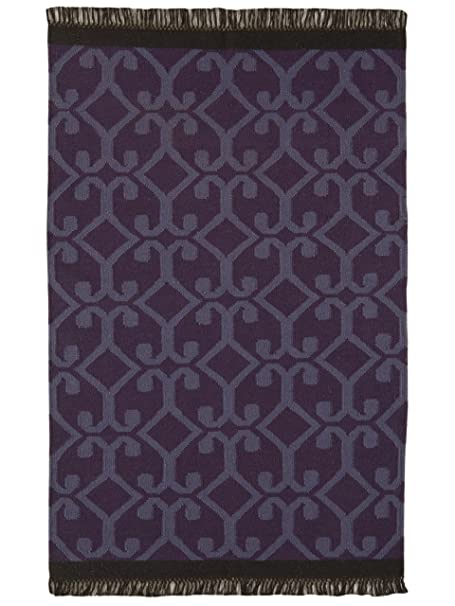 benuta tapis de salon moderne moderne kilim pas cher marron 160x230 160x230 cm sans. Black Bedroom Furniture Sets. Home Design Ideas