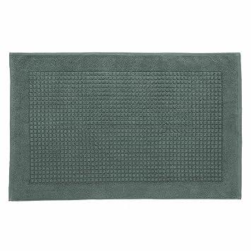 urbanara tapis de bain salema salema 100 coton supima bleu agave 60x100 cm. Black Bedroom Furniture Sets. Home Design Ideas