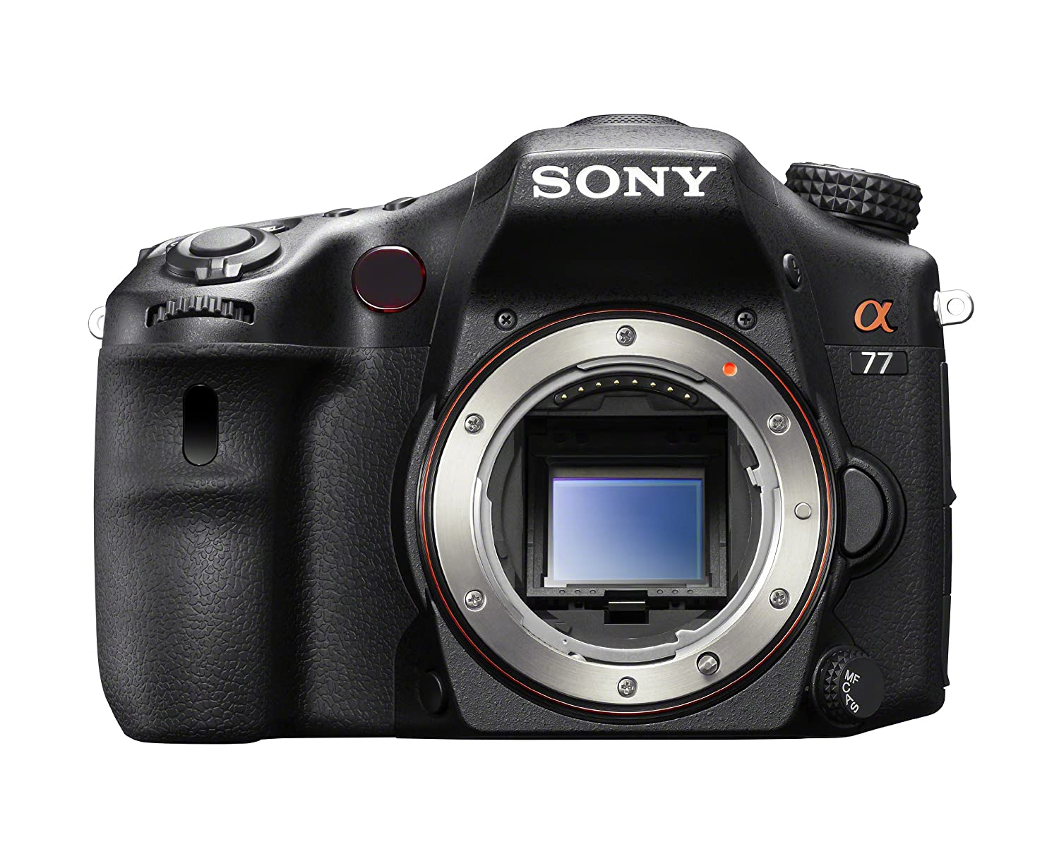 Sony SLT-A77 24.3 MP Digital SLR with Translucent Mirror Technology – Body Only (Save $200)