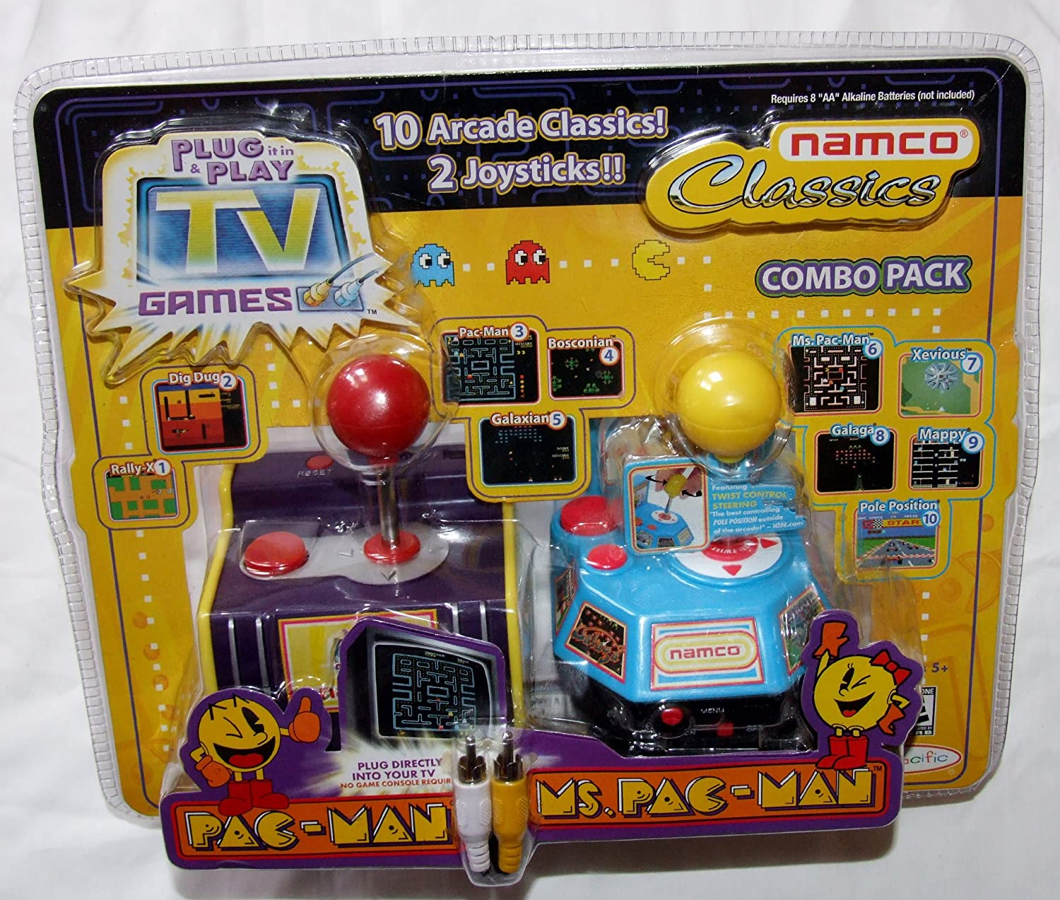 Tv Games Plug And Play : Namco tv games imgkid the image kid has it