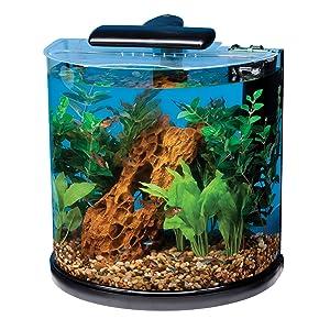 tetra half moon aquarium kit 10gallon