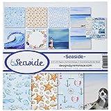 Reminisce Seaside Collection Kit (Color: Multicolor, Tamaño: 12