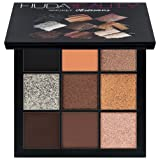 Huda Beauty Obsessions Eye Shadow Palettes! Four Beautiful Palettes To Choose From! Warm Brown! Mauve! Smokey! Electric! Perfect For Any Makeup Lover! (Smokey)