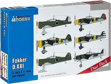 """Fokker D.XXI Duo Pack """"3.sarja & 4.sarja (01:48)"""