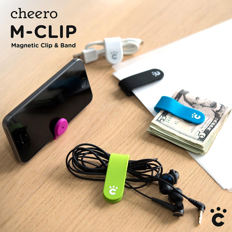 cheero M-CLIP 万能クリップ (全色セット)