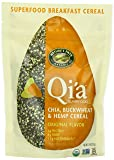 Nature's Path Qi'a Chia Buckwheat and Hemp Cereal, Original, 7.9-Ounce