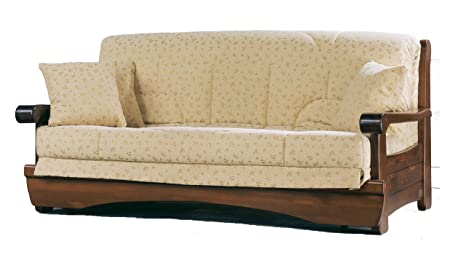 """Armchair bed """"Andrew"""" with coated removable"""