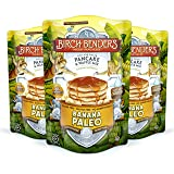 Banana Paleo Pancake & Waffle Mix by Birch Benders, Gluten Free, 6g Protein, Grain Free, No Added Sugar, Non-GMO, All Natural, 3 Pack (12 oz each)) (Tamaño: 12 Ounce (Pack of 3))