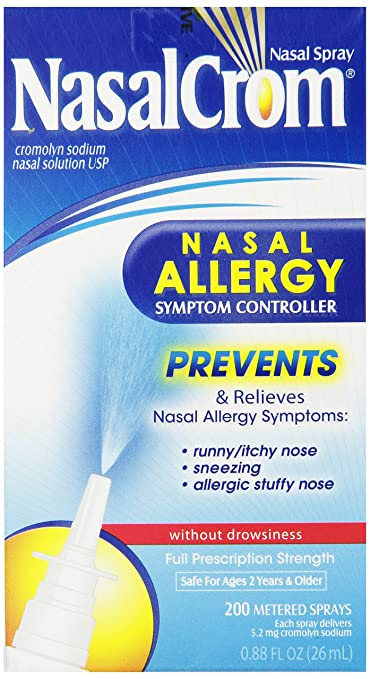 Nasal Crom Nasal Spray, 0.88 Ounce