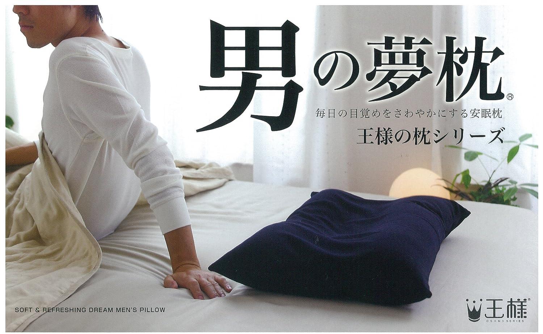 男の夢枕 (専用カバー付) W57×D40×H11cm