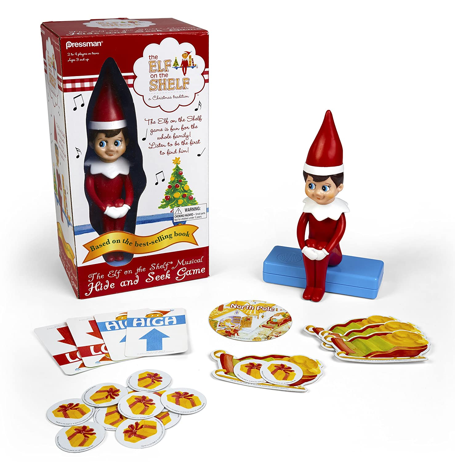 Elf on The Shelf Hide and Seek Game for All