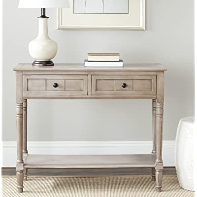 Safavieh American Home Collection Console Table, Vintage Gray