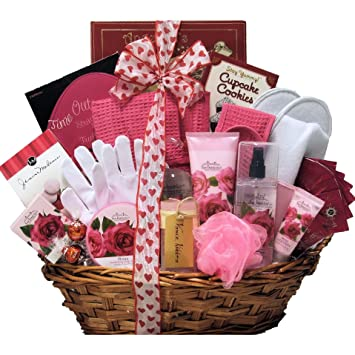 Valentines Day Spa Gift Baskets | Valentine\'s Day Wikii