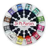 Dr. Ph. Martin's Bombay India Ink, 1.0 oz, Set of 12 (Set 1)