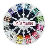 Dr. Ph. Martin's BOMB10OZSET1 Bombay India 1 Ink Set, 1.0 oz, Colors (Color: Set 1 Colors, Tamaño: 1.0 oz)