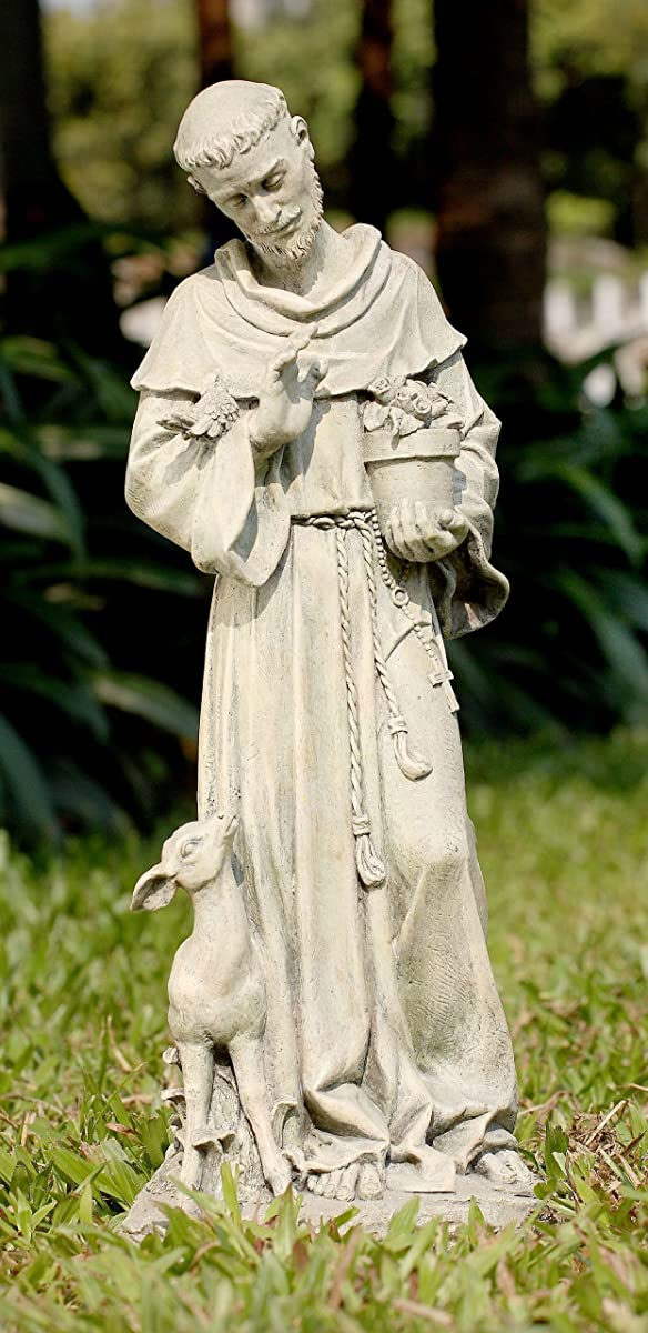 Napco St. Francis Statue, 20-Inch Tall