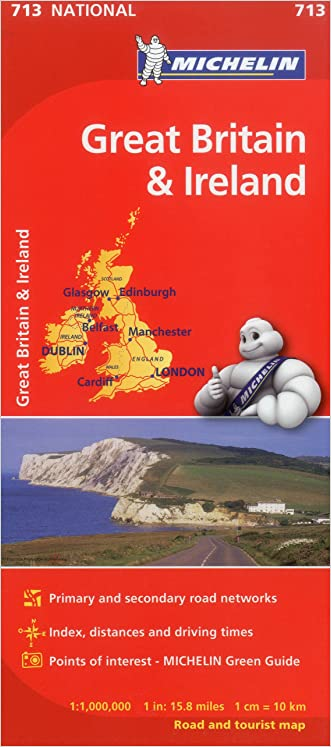 Michelin Great Britain & Ireland Map 713 (Maps/Country (Michelin))